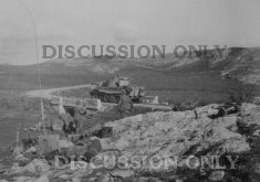 Tiger 121 retreats from Hunt's Gap