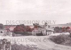 Tiger 11 attacks towards Bou Arada