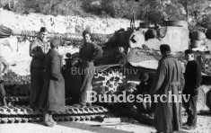 Tiger 132 gets repaired