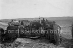Thumbnail image: Tiger 121 wrecked in Tunisia