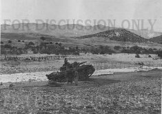 Operation Eilbote : a Pz.3 crossing Oued Maarouf