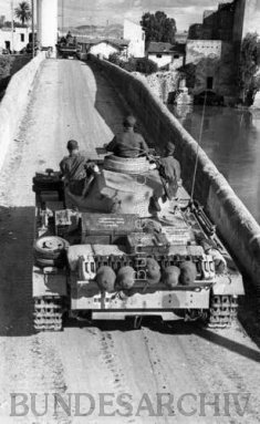 Pz.3 on Djedeida bridge