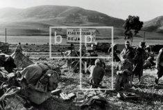 Troops at the Sidi N'sir junction