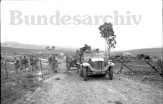Sd.Kfz.10 at the Sidi N'sir junction