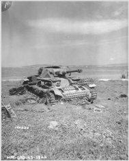 Pz.4 after the Beja battle