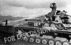 A Pz.4 halted for observation near Sidi N'sir