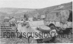 Kampfgruppe Lang moves down to  Sidi N'sir