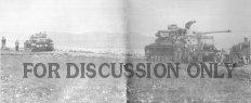 Panzers wait above Sidi N'sir