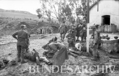 Thumbnail image: Wounded troops at Sidi N'sir