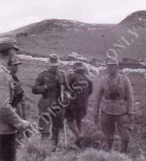 Col. Lang during the Sidi N'sir battle