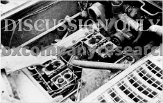 HL210 engine in wrecked Tiger 823