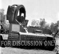 Demolished tiger of s.Pz.Abt. 504