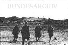 Soldiers at the Karachoum Gap