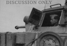 Tank gunner at Sidi N'sir