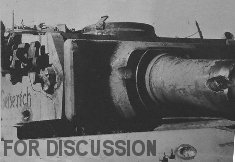 Thumbnail image: Turret of 71 wrecked