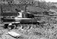 Thumbnail image: Burnt out Tiger of 3/504