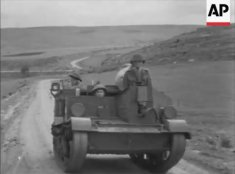 Universal Carrier near Kzar Mezouar