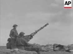 Bofors AA gun near Kzar Mezouar