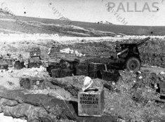 Supplies for gunners at Sidi N'sir
