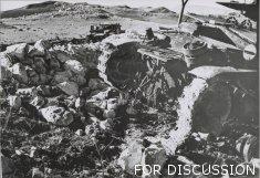 Wrecked Semoventes above Sidi N'sir