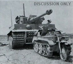 Tiger 131 and a Kettenkrad