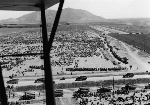 POW camp near Mateur, 1943
