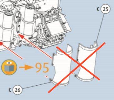 Tiki's exhaust shields