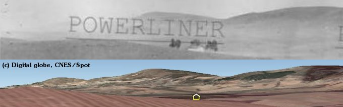 Horizon and farmhouse seen from Sidi N'sir