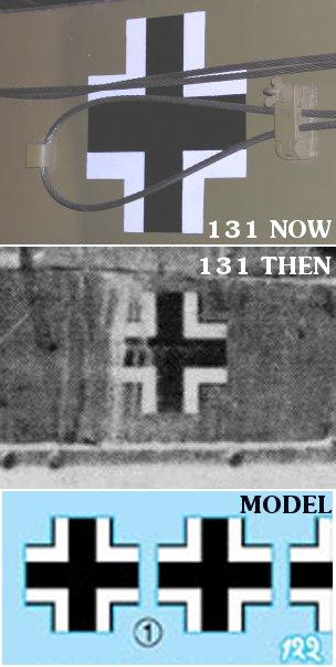 Crosses on Tiger 131