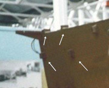 Feifel mounts on rear wall