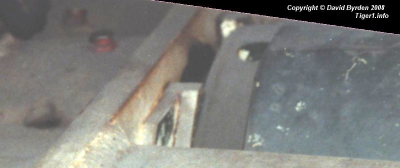Tiger E ; recoil pad