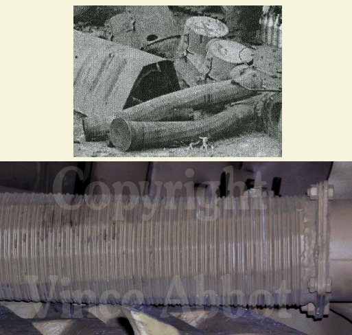 Feifel filter tubes on Tiger tanks