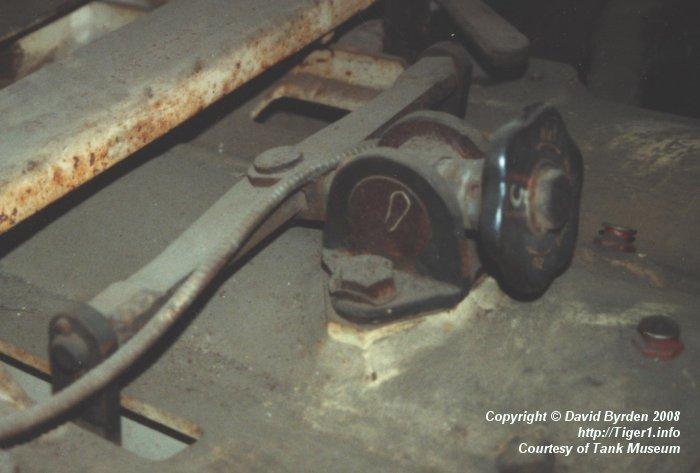 Tiger E ; handwheel for gun tube seal
