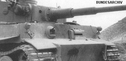 Headlights on Tiger 121