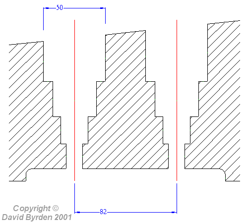 Plan of holes
