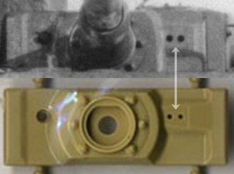 Eye holes on Rye Field Model Tiger kit
