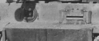 Glacis plate on Tiger 142