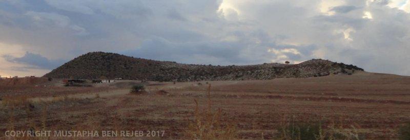 Steep ridge near Medjez el Bab