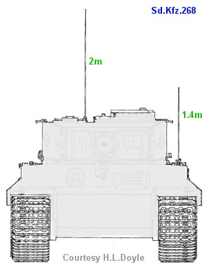 Sd.Kfz.268 antennae
