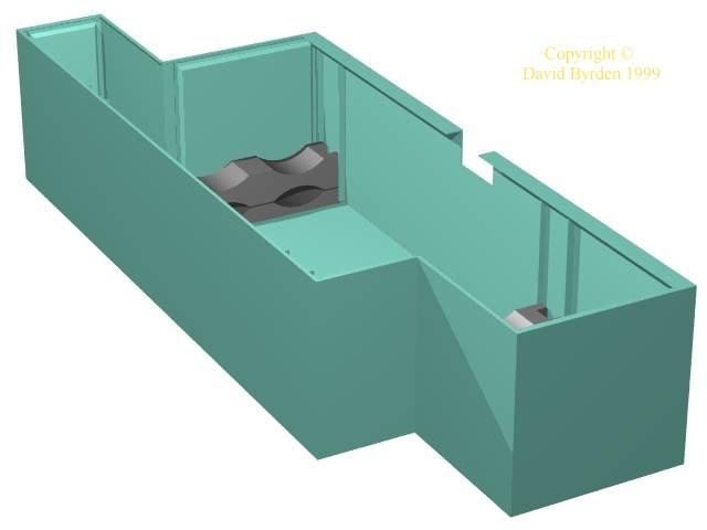 Right-hand under-floor box