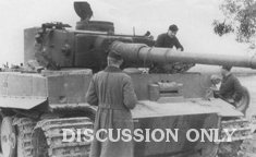 Tiger 122 gets stripped for parts