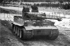 Operation Eilbote : Tiger 121 crossing Oued Maarouf