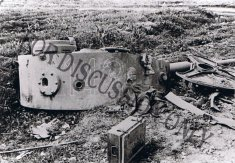 Thumbnail image: Turret of 142 wrecked