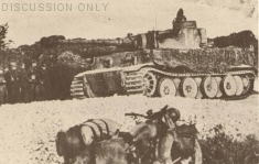 "Tiger 142 during ""Eilbote"""