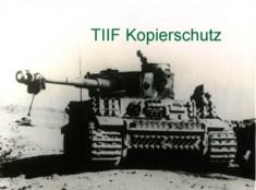 Tiger 231, spare tracks