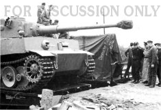 "Delivery of ""initial"" Tigers for s.Pz.Abt. 501"