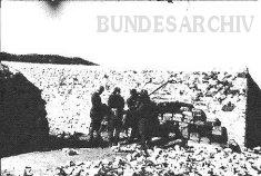 Thumbnail image: Supply dump at the Karachoum Gap