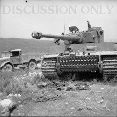 Tiger 131 abandoned