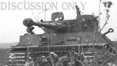 Tiger 131 battle damage
