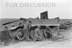 Thumbnail image: Tiger 142 is prepared for explosion